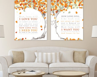 Wedding Song Lyric Art, First Dance Canvas, Custom Anniversary Gift, Wedding Song Lyrics, Wedding Keepsake Wall Art / W-L09-2PS HH5 03P