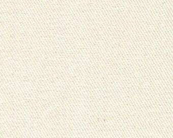 10 oz Brushed COTTON Twill Upholstery Slipcover Fabric CREAM Home Decor Slipcovers Clothing Fiber