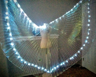 CUSTOM Angel LED dance wings *please read item details
