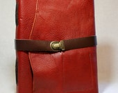 Deep Red Sketchbook-For Serious Artists or Writers