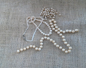 Vintage Batch of Faux Pearls