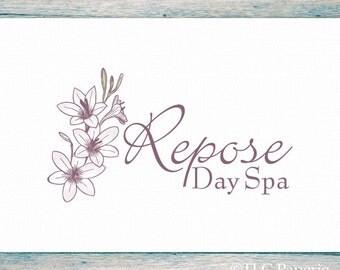 Premade Logo Design, Custom Logo,  Bath Body Logo, Soap Makers Logo, Florist Logo, Soap Logo, Flower Logo, Garden Logo, Photography Logo