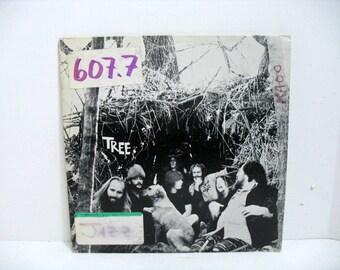 Vintage TREE LP S/T Record Album LP Hippie Psych Rock Gaot Farm Private Label