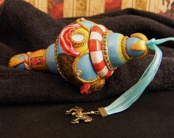 Childhood Dreams Carousel Gift Box Artisan Ornament