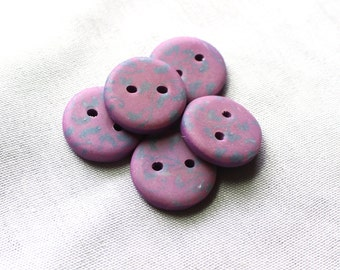 Handcrafted Buttons, Polymer Clay, No. 88