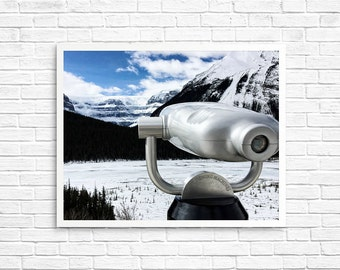 BUY 2 GET 1 FREE Canada Photography, Icefields Alberta, Wall Decor, Mountain Photo, Blue, Snow Photo, Wall Decor, Home Decor - Icefields