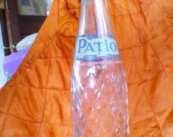 Vintage Patio by Pepsi soda bottle