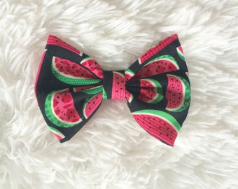 SALE Watermelon Hair Bow
