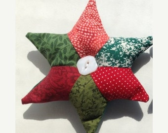 Winter Clearance Christmas tree ornament, star tree decoration