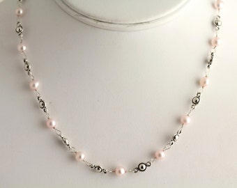 Freshwater Pearl Necklace. Listing 259678486