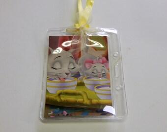 Luggage Bag Tag ID Holder Disney Aristocats