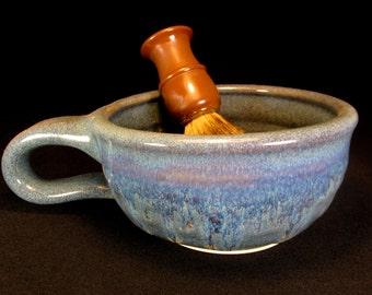 Clay Shaving Dish - Wet Shaving Mug - Mug For Wet Shaving - Ceramic Shave Dish - Pottery Shave Dish - Wet Shaving Ceramic - In Stock