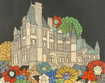 Croke Patterson Mansion - giclee art print