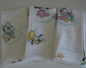 Disney baby wash cloths/reuseable wipes