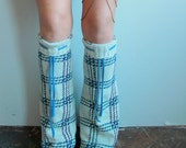 Boho Boyfriend Sweater Leg Warmers  Recycled Sweater Legwarmers/ Boot Covers Leg Warmers Upcycled Boho Chic Gifts For Her