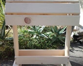 Wood Saddle Stand / unfinished