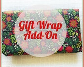 Gift Wrapping Service Add-On - Holiday!