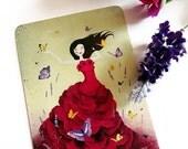 30% Off Halloween Sale - Mariposa - Postcard