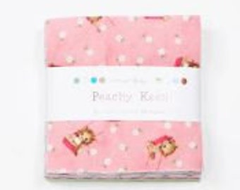 Peachy Keen Charm Pack