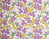 SALE - Toy Box IV, 1930's Reproduction, Sara Morgan, Blue Hill Fabrics, Designer Cotton Quilt Fabric, Lavender Floral Fabric, Quilting