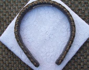 Olive Chenille Headband
