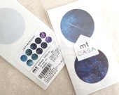 mt CASA Sticker Sheets - Starry Night - Set of 10 pieces in varying designs