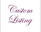 Custom listing for ngozi