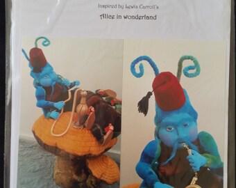 Hookah the Smoking Caterpillar Pattern (Alice in Wonderland Collection)