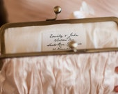 Custom Message Label | Monogram Bridesmaid Clutch | Personalize a Clutch | Monogrammed Gifts [Add-On: Custom Message Label]