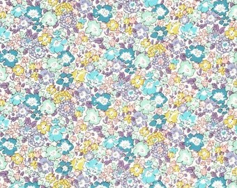 Liberty Fabric Michelle D Tana Lawn One Yard Pastel Floral