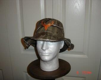 Camo Boonie Safari  Bucket Hat