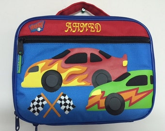 Personalized Stephen Joseph Race Car Lunchbox