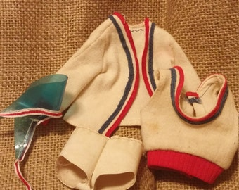 Vintage athletic outfit for barbie