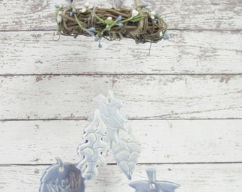 Memorial Wind Chime Personalized Leaves