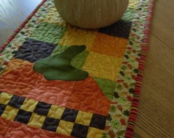 Pumpkin PATCH Table Runner, Table Topper, Pumpkin Runner