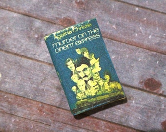 Miniature Book --- Murder on the Orient Express