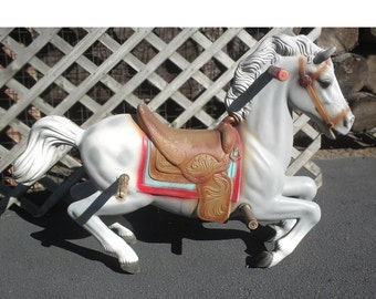 Bouncy Horse - Riding Toy Carousel Horse Great Details - WILL SHIP To Your Location
