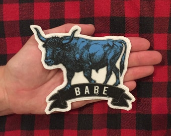 Babe (the blue Ox) Paul Bunyan small patch folk tale lumberjack midwest