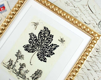 7x9 Gold Boules Frame for Photos, Prints, Watercolors and Other Images