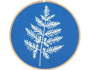 Botanical Embroidery Series - Fern