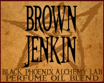 Brown Jenkin: HP Lovecraft Perfume by Black Phoenix Alchemy Lab 5ml
