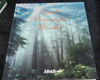 60%OFF God's Beautiful World by Ideals 1993 Book Vintage