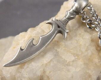 Men's Tribal Knife Necklace
