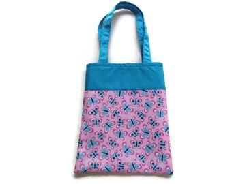 Fabric Butterfly Gift/Goodie Bag - Butterflies