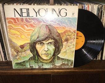 Neil Young Vintage Vinyl Record