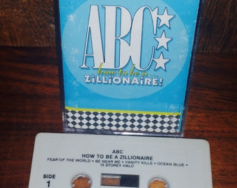 ABC How to Be a Zillionaire Vintage Cassette Tape