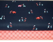 1/2 Yard each of 2 Penny Arcade Fabrics from Kimberly Kight for Cotton & Steel Fabrics