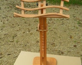 """The """"Swan"""" Music Stand In Solid Cherry"""