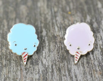Bluey & Pinky, Cotton Candy Lapel Pin