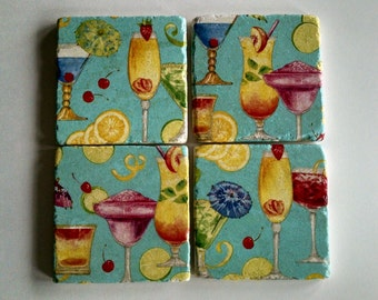 Tropical Drink Coasters
